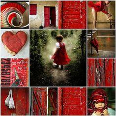 Het rood waar ik zo van hou . by Catharinas-Love, via Flickr