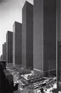 city-furniture-blog: Skyscrapers on 6th Avenue in 1974 #NewYork #Skyscraper http://on.fb.me/HYjuuF
