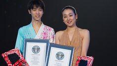 浅田選手と羽生選手へ、ギネス世界記録認定授与式 | Guinness World Records