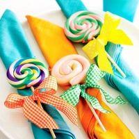 napkin with dessert ;o)