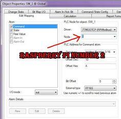 SCADA and Raspberry Pi Application, for SCADA use Free SCADA IGSS