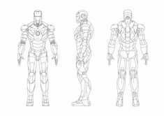 Iron man Mark III Blueprint - Obtain free blueprint for modeling,Desenho Iron man Mark III Bluepr Iron Man Suit, Iron Man Armor, Tractor Coloring Pages, Iron Man Drawing, Marvel Concept Art, Sketches Tutorial, Drawing Tutorials, Drawing Tips, Iron Man Stark