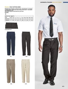 Leading Corporate & Promotional Clothing Supplier In Africa Security Uniforms, Promotional Clothing, Concept Art, Cotton, Pants, Stuff To Buy, Clothes, Fashion, Safety