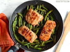 This incredible fast and easy Sesame Glazed Salmon dinner is faster than take-out and more impressive than a white cloth restaurant. Step by step photos.