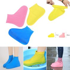 Bianchi Step in Sock Reusable Shoe Cover One Step Hand Free Sock Shoe Covers