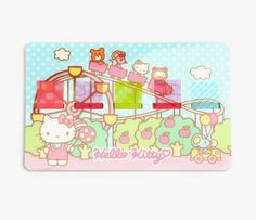 Hello Kitty Sticky Flags: Park