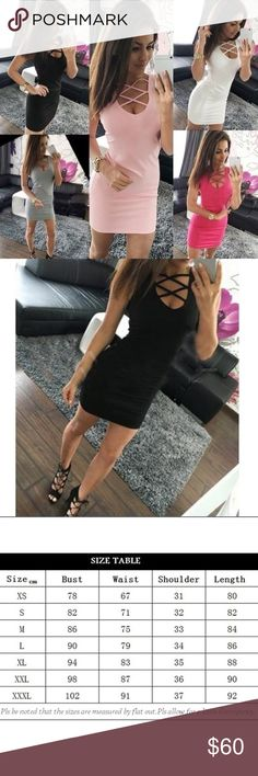 COMING SOON 🆕Black Strappy Dress Color: black. Material: polyester, spandex & cotton. Dresses Mini
