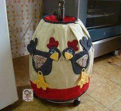 Capa de botijão galinha