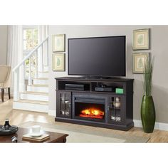 ideas about Media Fireplace on Pinterest Electric