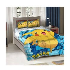 Officially Licensed Twin Full Bed Comforter and Sham Set - Pokemon Pikachu Northwest,http://www.amazon.com/dp/B00IZKSAWC/ref=cm_sw_r_pi_dp_-GWttb0DXCR31E06