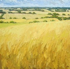Swathes of Wheat (commissioned through The Hunter Gallery)