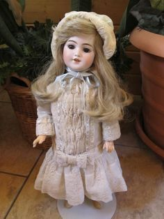 "SIMON & HALBIG 20"" #1249 SANTA DEP 8 ANTIQUE GERMAN BISQUE DOLL CIRCA,1900"
