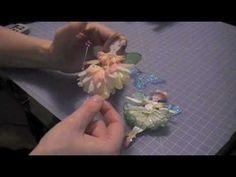 Paper Art Doll Flower Fairy Tutorial Promo
