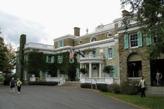 Franklin Roosevelt's Mansion- Hyde Park-  Been There!