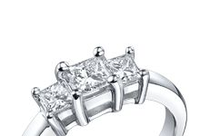 Wedding rings from Robbins Brothers