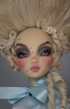 Monster High Crafts, Custom Monster High Dolls, Monster Dolls, Custom Dolls, Ooak Dolls, Blythe Dolls, Art Dolls, Doll Eyes, Doll Face