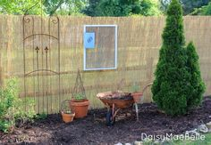 How To Install A Reed Fence