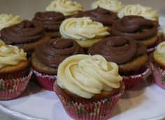 Hey, Mom! What's For Dinner?: Cooking Show #5--Cupcakes!! With Salted Caramel, or Nutella Filling...& Mascarpone Frosting