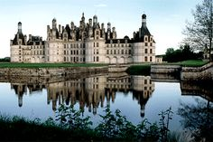 Chambord Chateau, Loire Valley, France... I went here with my brother in high school. I'll always remember it