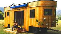 See the World in This 174-Square-Foot Off-Grid Caravan
