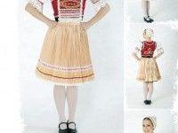Ženský kroj Cheer Skirts, Fashion, Moda, Fashion Styles, Fashion Illustrations