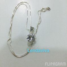 Prata e zirconia R$ 45,00 www.casadaspedrasbrasileiras.com.br (null) Feito com o Flipagram - http://flipagram.com/f/c49rhyUt1W