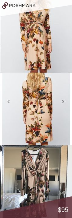 Pietro Brunelli maternity dress New with tags Pietro Brunelli a pea in the pod maternity fall floral dress, it's a perfect for work out a night out. Viscose elastane blend. Fits true to size. Made in Italy. No trades. A Pea in the Pod Dresses Midi