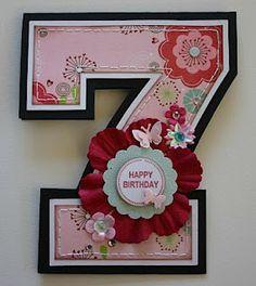 cute idea for a birthday card