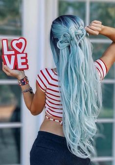 Are you thinking to change your existing hair colors for cute braid looks? If you still can't find perfect matches of hair colors for braids then see here for beautiful blue braids to try nowadays. No doubt these are fantastic hair looks for ladies to show off in 2018.