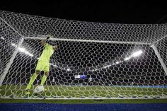 Argentina goalkeeper Geronimo Rulli goes back for the ball after Portugal's Pite scored during a group D match of the men's Olympic football tournament at the Rio Olympic Stadium in Rio De Janeiro, Brazil, Thursday, Aug. Olympic Football, Olympic Medals, Football Tournament, Geronimo, Summer Olympics, Goalkeeper, Brazil, Thursday, Leo
