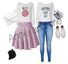 """Annie and me"" by hopemnixon on Polyvore featuring beauty, City Chic, Converse, Tory Burch and Aéropostale"
