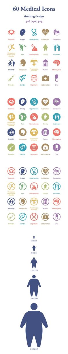 60 Medical Icons