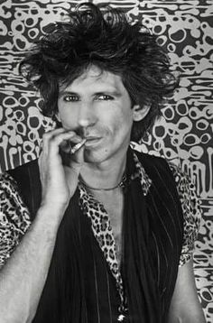 Keith Richards.  Younger Keith looking like older Keith.