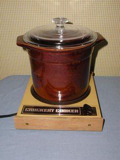 vintage sears crockery cooker slow cooker crock pot warmer for sale