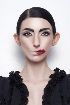 surrealist costume makeup - Google Search