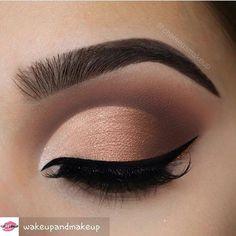@wakeupandmakeup -  So clean @chelseasmakeup . . . #makeup #eyebrows #eyeshadow #eyeliner #makeupgirls #makeupartist #makeupaddict #makeupforever