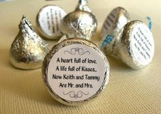 Wedding Favor Ideas To Make | Wedding Favor Kisses | Do It And How