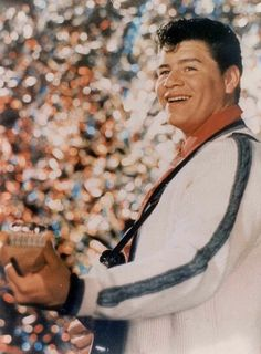 """Ritchie Valens (13 May 1941 - 3 Feb 1959) was a American singer, songwriter, guitarist, rock and roll pioneer, and forefather of the Chicano Rock movement. His career lasted only eight months, before his tragic death, but within that time, brought Mexican Folk songs (such as his well-known hit """"La Bamba"""") to the forefront of rock music. He was a Rock & Roll Hall of Fame in 2001."""