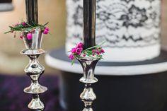 Dramatic, Dark & Romantic Wedding Ideas via TheELD.com