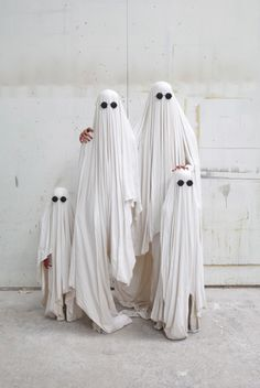 ghost family halloween costume