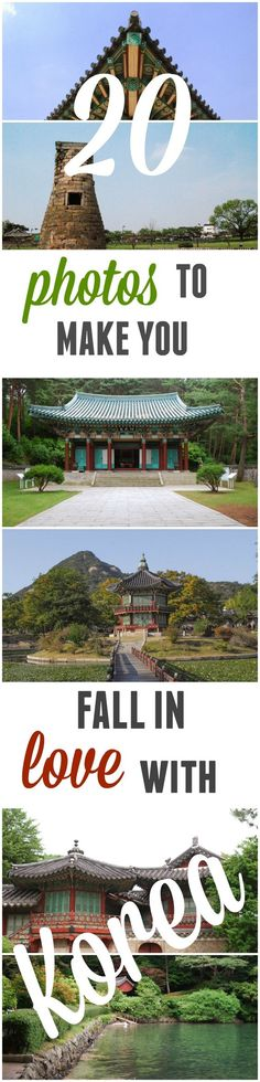 Check out these beautiful photos of a more traditional Korea to make you fall in love with a fascinating country...