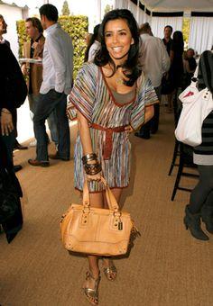#EvaLongoria   #MMissoni Summer Collection Dress
