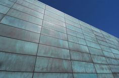 Nothing compares to the look of strength and sophistication of natural metal. Beautiful from day one, these material. Gros Morne, Metal Cladding, Metal Finishes, Gas Station, Pool Designs, Metals, Skyscraper, Exotic, Stone