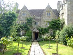 Kelmscott Manor, William Morris's country house near Lechlade, Oxfordshire.