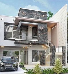 Rate this place 🏡⁣⠀ . We're a heavy hitting realtor duo where YOU are our priority 🙌 Get in touch with us for your real estate needs 🏠⁣⠀ . House Paint Exterior, Dream House Exterior, Exterior Design, Modern Small House Design, Bungalow House Design, House Outside Design, House Front Design, Philippines House Design, Model House Plan