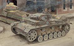 Средний танк Panzer kampf III Ausf. E. France 1940. Dragon