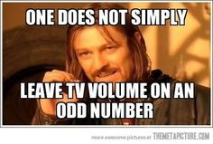 i would rather die than leave anything at an odd number! #OCD