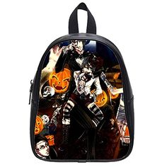 Large Size Black Butler Printing Shoulders Backpack Custom High School Students Backpack for Travel or Party >>> Details can be found by clicking on the image-affiliate link. #CustomBackpack