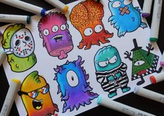 Characters to doodle Art cartoon 8 Characters Part 3 Doodle Characters, Graffiti Characters, 3 Characters, Graffiti Doodles, Graffiti Art, Cartoon Drawings, Cool Drawings, Vexx Art, Doodle Art Drawing