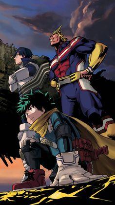 Anime / my hero academia mobile wallpaper Chibi, Fanart, My Hero Academia Manga, Boku No Hero Academia, Otaku Anime, Anime Naruto, Mega Anime, Hero Wallpaper, Dark Anime